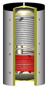 Solarni spremnik sa izmjenjivačem za pitku vodu